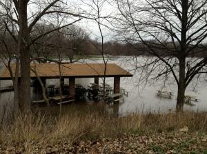 picnic area underwater
