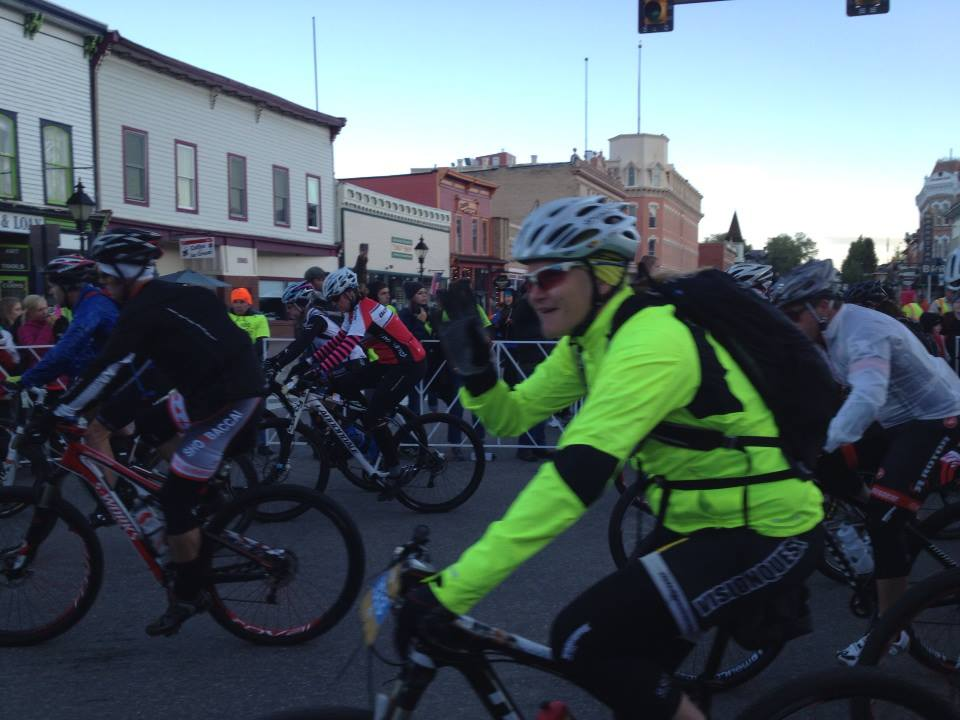 Getting through the Leadville 100 MTB Race (4/6)