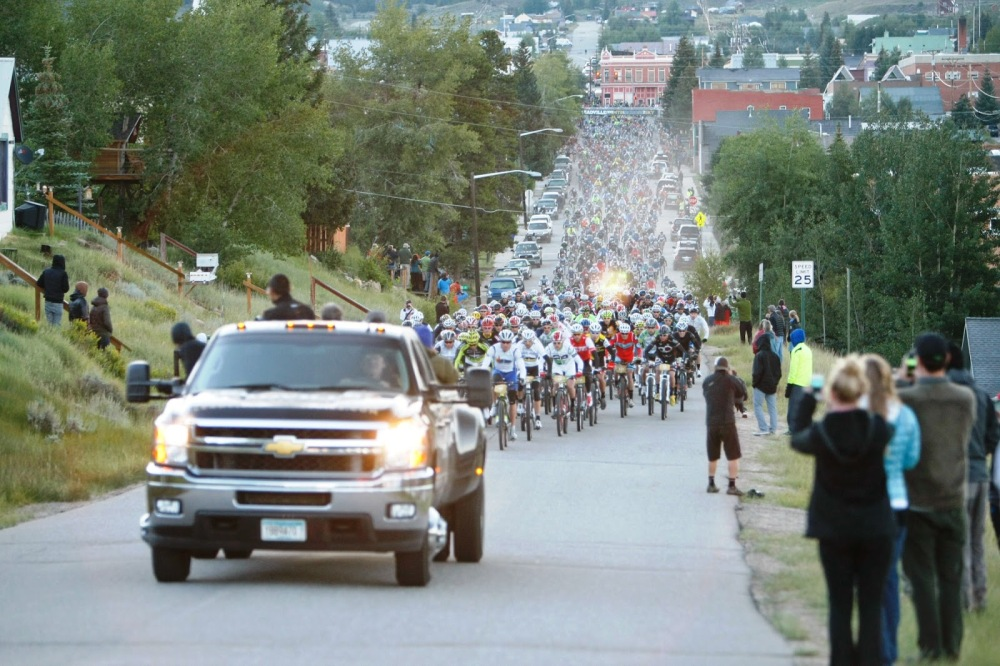 Getting through the Leadville 100 MTB Race (5/6)