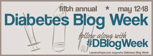 DIABETES BLOG WEEK