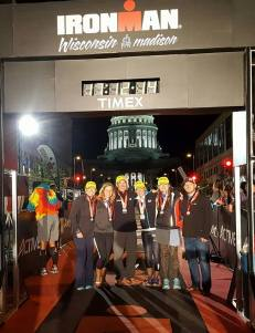Lifetime crew at finish!